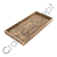 WOODEN WINE TRAY