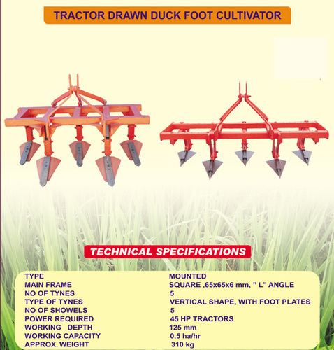 Cultivator Blade for Tractors