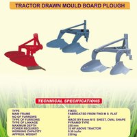 Tractor Drawn Mould Board Plough