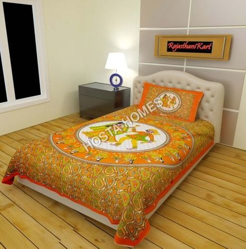 Single Bed Bed Sheet Multi Color