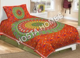 Floral Print Single Bed Bedsheet (60*90)inch