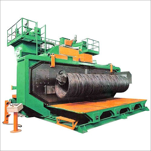 Air Less Wire Shot Blasting Machine
