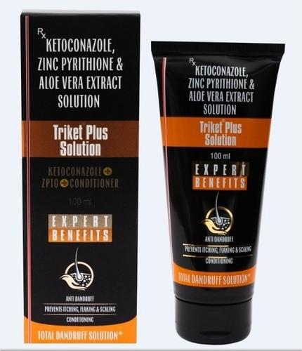 Ketoconazole Anti Dandruff Shampoo Dry Place