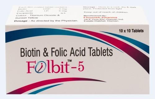 Folbit-5 Tablets