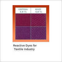 Reactive Dyes For Textile Industry