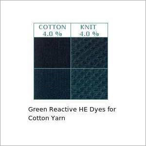 Green Reactive He Dyes For Cotton Yarn