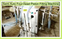 Semi Auto Four-Head Filling Machine