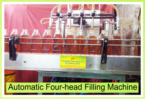 Automatic Four-Head Filling Machine