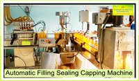 Automatic Filling & Sealing & Capping Machine