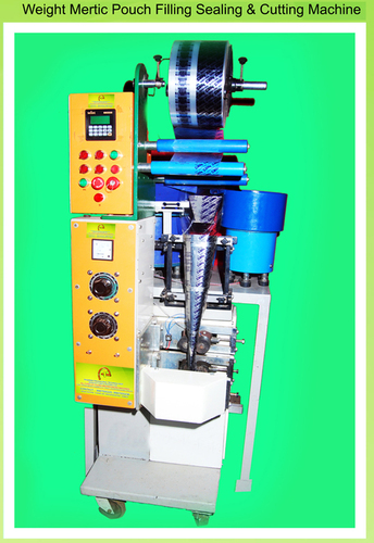 Weight Metric Pouch Filling Sealing & Cutting Machine