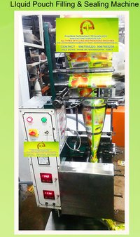 Liquid Pouch Filling & Sealing Machines