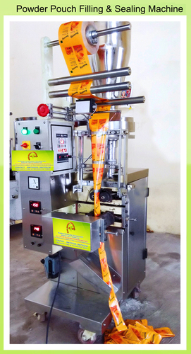Powder Pouch Filling & Sealing Machines