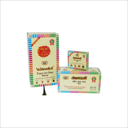4 In 1 Assorted Dhoop (Amber,Gugal,Chandan,Gulab)
