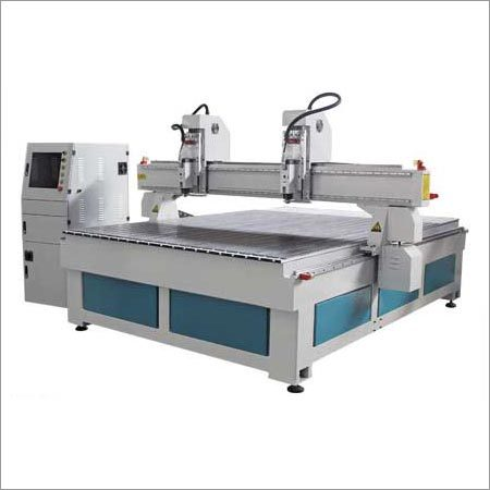 Double Independent Heads CNC Router Machine