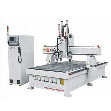 Professional Furniture Three Heads Simple ATC CNC Machine