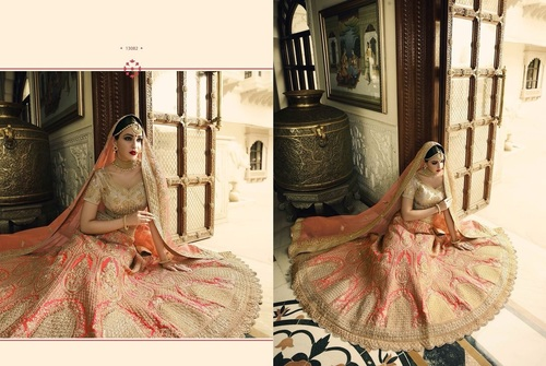 Fully Embroidered Lehenga Choli