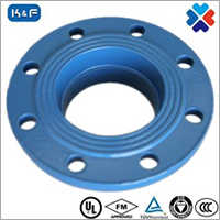 Ductile Iron Grooved Pipe Flange Adapter