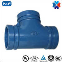 Ductile Iron Grooved Pipe Grooved Tee