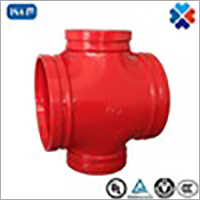 Ductile Iron Grooved Pipe Mechanical Grooved Tee