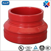 Ductile Iron Grooved Grooved Concentric Reducer