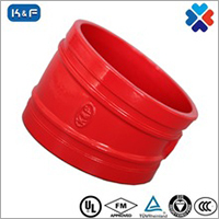 Ductile Iron Grooved Pipe 11.25 Degree Elbow