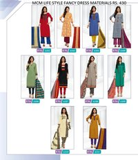 COTTON DRESS MATERIALS IN INDIA