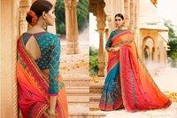 Heavy Zari Work Designer Saree
