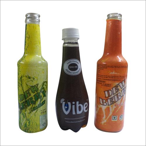 Bottle Printed Shrink Label