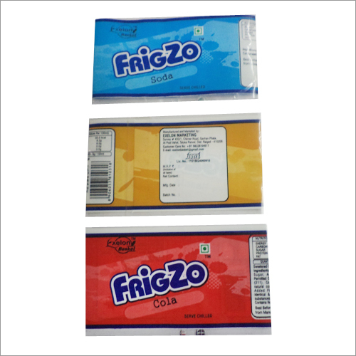 Cold Drink Printed Shrink PVC Label