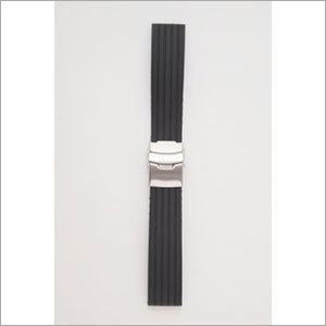 Silicone wristband watch band