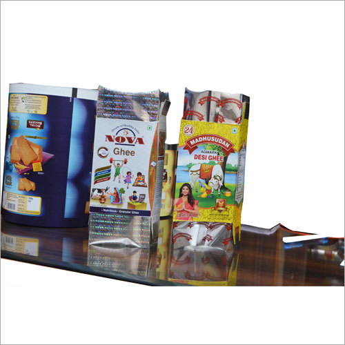 Ghee Packaging Laminate Box