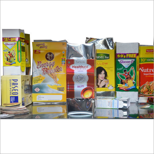 Milk Product Packaging Laminate Box