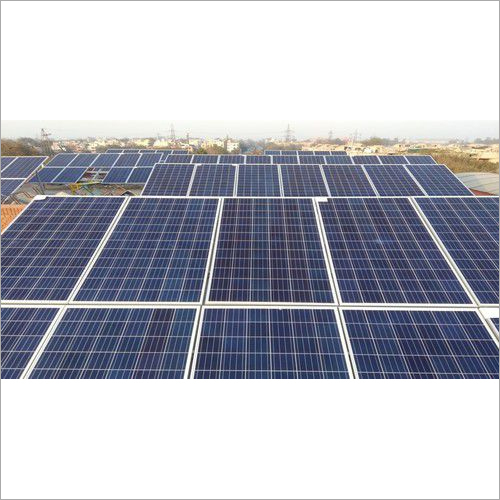 Grid Connected Roof Top Solar Power Plant
