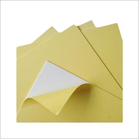 Self Adhesive Paper Sheet