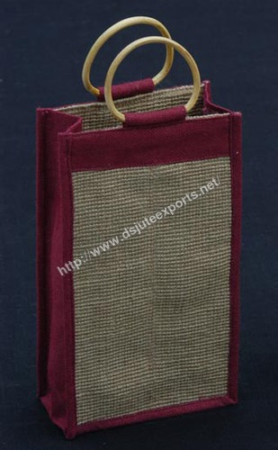 Jute Water Bottle bags