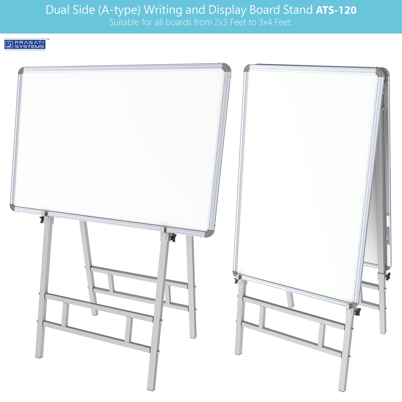 Dual Side Writing & Display Board Stand (Upto 3x4)