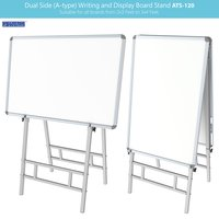 Dual Side Writing & Display Board Stand (Upto 3x4)
