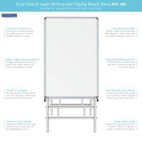 Dual Side Writing & Display Board Stand (Upto 4x6)