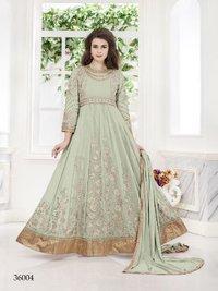 Designer Party Wear Net Anarkali Suit