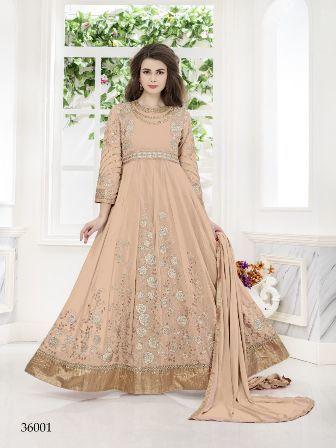 Heavy Designed Net Anarkali Suit