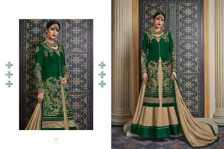 Modern Designed Velvet Anarkali Suit