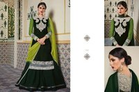 Bridal Wear Velvet Anarkali Suit