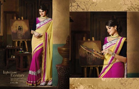 Wedding Wear Printed Saree