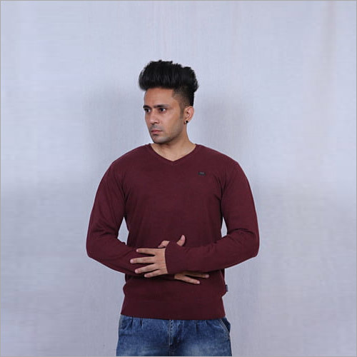 Mens Plain Pullover in ludhiana