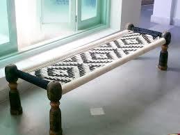Wooden Charpai Cum Sofa