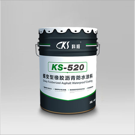 RubberBit KS-520 Non-curing rubberized bitumen waterproof coating
