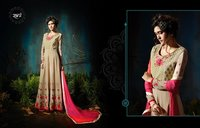 HEAVY GEORGETTE KALI SALWAR SUITS WITH HEAVY WORK
