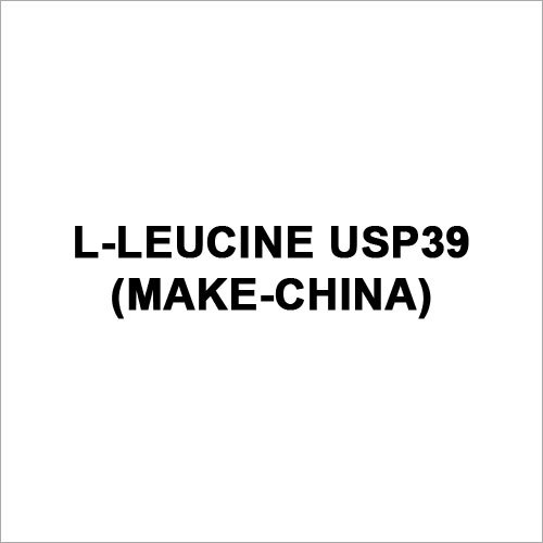 L-Leucine USP 39