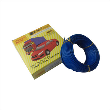 Thin Wall PVC Insulated Cables