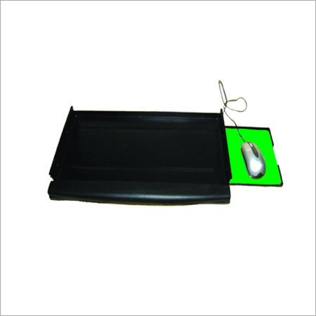 Metal Keyboard Tray With Mouse And Pu Cushion